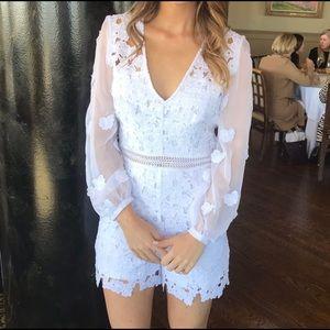 Gorgeous white romper